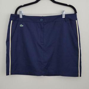 Lacoste Navy Golf Skirt 42 (Size 10)